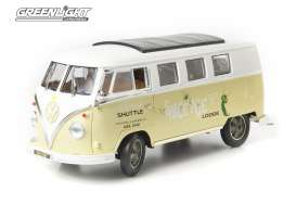 Volkswagen  - 1962 white/ primer green - 1:18 - GreenLight - 12851 - gl12851 | The Diecast Company