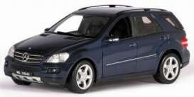 Mercedes Benz  - blue - 1:18 - Welly - 18006b - welly18006b | The Diecast Company