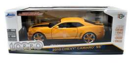 Chevrolet  - 2010 yellow/black - 1:18 - Jada Toys - 96382y - jada96382y | The Diecast Company