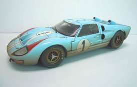 Ford  - 1966 blue/orange/dirt - 1:18 - Shelby Collectibles - shelby405 | The Diecast Company
