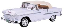 Chevrolet  - 1955 white - 1:18 - Motor Max - 73184w - mmax73184w | The Diecast Company