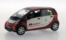 Mitsubishi  - 2008 red/white - 1:43 - J Collection - jc177 | The Diecast Company