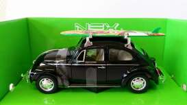 Volkswagen  - 1959 black - 1:24 - Welly - welly22436SBbk | The Diecast Company
