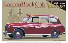 Austin  - FX4 London Taxi 1985  - 1:24 - Aoshima - abk154871 | The Diecast Company