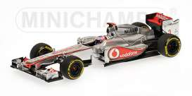 McLaren Mercedes Benz - 2012 silver - 1:43 - Minichamps - 530124373 - mc530124373 | The Diecast Company