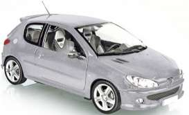 Peugeot  - 2003 silver - 1:18 - Norev - 184726 - nor184726 | The Diecast Company