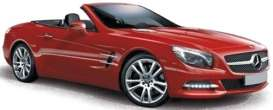 Mercedes Benz  - 2012 red - 1:43 - Norev - nor351340 | The Diecast Company