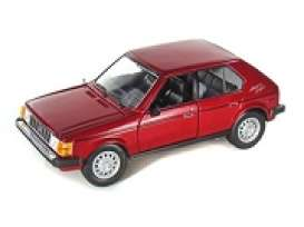 Plymouth  - 1985 red - 1:24 - Motor Max - 73341r - mmax73341r | The Diecast Company