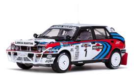 Lancia  - 1991 red/white/blue - 1:18 - SunStar - 3126 - sun3126 | The Diecast Company