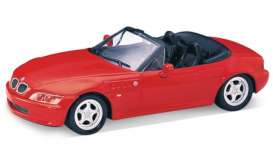 BMW  - 2002 red - 1:24 - Welly - 29379cr - welly29379cr | The Diecast Company