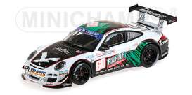 Porsche  - 2011 green/white - 1:43 - Minichamps - mc400118960 | The Diecast Company