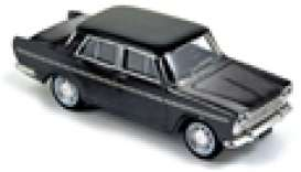 Fiat  - 1964 black - 1:43 - Norev - nor770201 | The Diecast Company