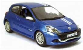 Norev - Renault  - nor517593 : 2009 Renault Clio RS Gordini, blue