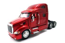 Peterbilt  - red - 1:32 - Jada Toys - 23150r - jada23150r | The Diecast Company
