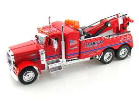 Peterbilt  - red - 1:32 - Jada Toys - 91592r - jada91592r | The Diecast Company