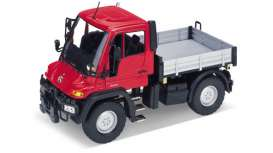 Unimog  - red/grey - 1:24 - Welly - 22098r - welly22098r | The Diecast Company