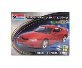 Ford  - Mustang Cobra 1999  - 1:25 - Monogram - 4014 - mono4014 | The Diecast Company