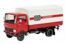 Mercedes Benz  - red/white - 1:43 - Schuco - 3531 - schuco3531 | The Diecast Company
