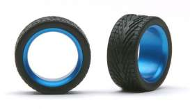Wheels & tires  - light blue - 1:24 - Pegasus - hs2383 - pghs2383 | The Diecast Company