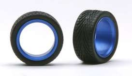 Wheels & tires  - blue - 1:24 - Pegasus - hs2391 - pghs2391 | The Diecast Company