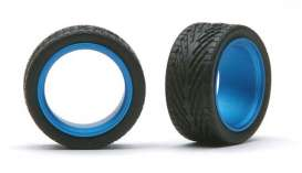 Wheels & tires  - light blue - 1:24 - Pegasus - hs2393 - pghs2393 | The Diecast Company