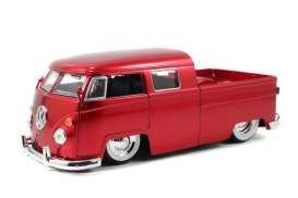 Volkswagen  - 1963 red - 1:24 - Jada Toys - 91250r - jada91250r | The Diecast Company