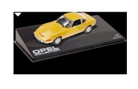 Opel  - 1968 yellow - 1:43 - Magazine Models - OGT - MagOGT | The Diecast Company