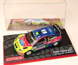 Ford  - 2008 blue/yellow/red - 1:43 - Magazine Models - RAFocus - MagRAFocus | The Diecast Company