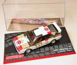 Audi  - 1983 white/grey/red - 1:43 - Magazine Models - RAQuattrono1 - MagRAQuattrono1 | The Diecast Company