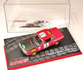 Lancia  - 1972 red/black - 1:43 - Magazine Models - RAFulviano1 - MagRAFulviano1 | The Diecast Company