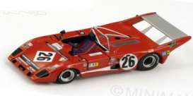 Lola  - 1978 red - 1:43 - Spark - BZ168 | The Diecast Company