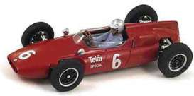 Cooper  - 1961 red - 1:43 - Spark - s3512 - spas3512 | The Diecast Company