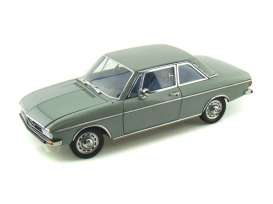 Audi  - 100 LS 2-door 1972 green-grey - 1:18 - Signature Models - 38211 - sig38211gn | The Diecast Company