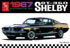 Shelby  - 1967 white - 1:25 - AMT - s800 - amts800 | The Diecast Company