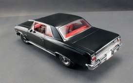 Chevrolet  - 1965 black/red - 1:18 - Acme Diecast - acme1805301 | The Diecast Company