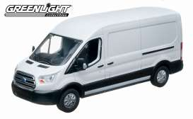 Ford  - Transit V363 2015 white - 1:43 - GreenLight - 86039 - gl86039 | The Diecast Company