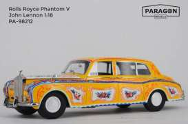 Rolls Royce  - Phantom V *John Lennon* 1964 yellow - 1:18 - Paragon - 98212 - para98212 | The Diecast Company