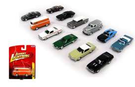 Assortment/ Mix  - various - 1:64 - Johnny Lightning - 50298ZZF - JL50298ZZFmix12 | The Diecast Company