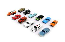 Assortment/ Mix  - various - 1:64 - Johnny Lightning - 50298ZZG - JL50298ZZGmix12 | The Diecast Company