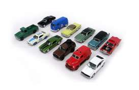 Assortment/ Mix  - various - 1:64 - Johnny Lightning - 50298ZZH - JL50298ZZHmix12 | The Diecast Company