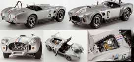 Shelby  - Cobra 427 S/C Racing Screen #6 silver - 1:12 - Kyosho - 8632S - kyo8632S | The Diecast Company