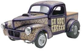 Willys  - 1941  - 1:25 - Monogram - mono4058 | The Diecast Company