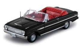 SunStar - Ford  - sun4533 : 1963 Ford Falcon Futura Convertible, raven black