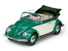 Volkswagen  - 1949 green/white - 1:12 - SunStar - 5214 - sun5214 | The Diecast Company