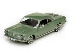 Chevrolet  - 1963 laurel green - 1:18 - SunStar - 1483 - sun1483 | The Diecast Company