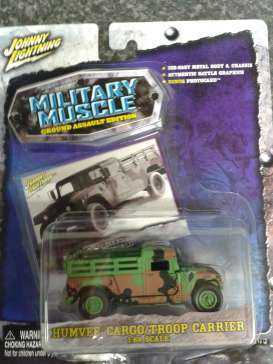 Humvee  - camouflage - 1:69 - Johnny Lightning - 30603-3 - jl30603-3 | The Diecast Company