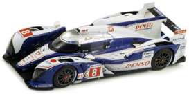 Toyota  - TS030 2012 blue/white - 1:18 - Spark - 18S071 - spa18S071 | The Diecast Company