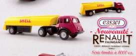 Renault  - Faineant Citerne *Shell* red/yellow - 1:43 - Norev - norc38301 | The Diecast Company
