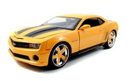 Chevrolet  - 2010 yellow/black - 1:24 - Jada Toys - 96762y - jada96762y | The Diecast Company