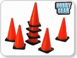 Accessoires  - orange - 1:24 - Hobbygear - hg17025 | The Diecast Company